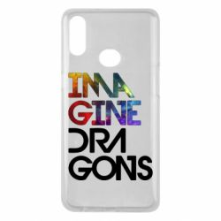 Чехол для Samsung A10s Imagine Dragons and space