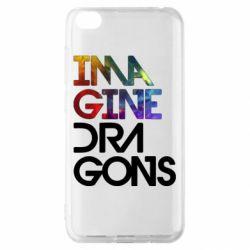 Чехол для Xiaomi Redmi Go Imagine Dragons and space