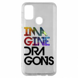 Чехол для Samsung M30s Imagine Dragons and space