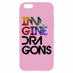 Чехол для iPhone 6 Plus/6S Plus Imagine Dragons and space