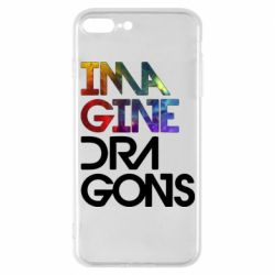 Чехол для iPhone 7 Plus Imagine Dragons and space