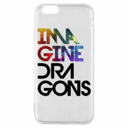 Чехол для iPhone 6/6S Imagine Dragons and space