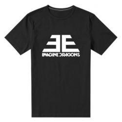 Мужская стрейчевая футболка Imagine Dragons Evolve simbol