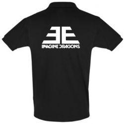Мужская футболка поло Imagine Dragons Evolve simbol