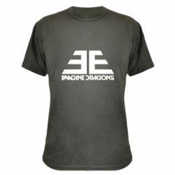 Камуфляжная футболка Imagine Dragons Evolve simbol