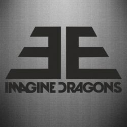 Наклейка Imagine Dragons Evolve simbol