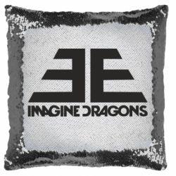 Подушка-хамелеон Imagine Dragons Evolve simbol