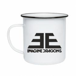 Кружка эмалированная Imagine Dragons Evolve simbol