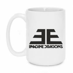 Кружка 420ml Imagine Dragons Evolve simbol