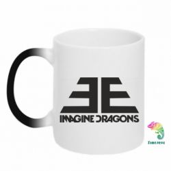 Кружка-хамелеон Imagine Dragons Evolve simbol