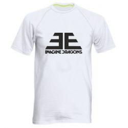 Мужская спортивная футболка Imagine Dragons Evolve simbol