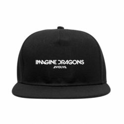 Снепбек Imagine dragons: Evolve text logo - FatLine