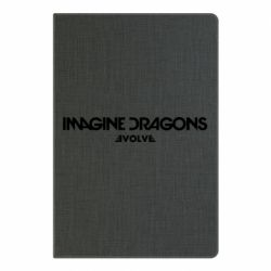Блокнот А5 Imagine dragons: Evolve text logo - FatLine