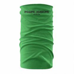 Бандана-труба Imagine dragons: Evolve text logo