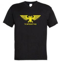 Мужская футболка  с V-образным вырезом Imperium of Man - Warhammer 40K - FatLine