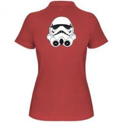 Женская футболка поло Имперский штурмовик - FatLine