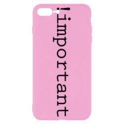 Чехол для iPhone 8 Plus !important - FatLine