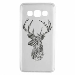 Чохол для Samsung A3 2015 Imprint of human skin in the form of a deer
