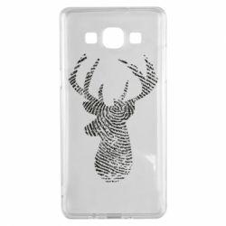 Чохол для Samsung A5 2015 Imprint of human skin in the form of a deer