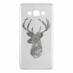 Чохол для Samsung A7 2015 Imprint of human skin in the form of a deer