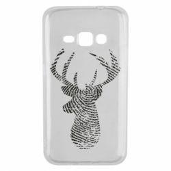 Чохол для Samsung J1 2016 Imprint of human skin in the form of a deer