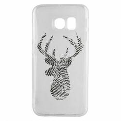 Чохол для Samsung S6 EDGE Imprint of human skin in the form of a deer