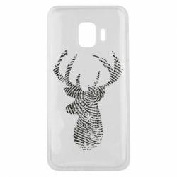 Чохол для Samsung J2 Core Imprint of human skin in the form of a deer