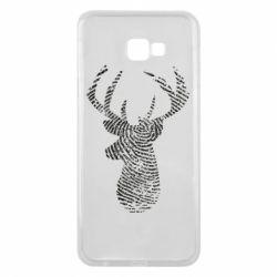 Чохол для Samsung J4 Plus 2018 Imprint of human skin in the form of a deer