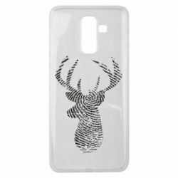 Чохол для Samsung J8 2018 Imprint of human skin in the form of a deer