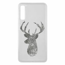Чохол для Samsung A7 2018 Imprint of human skin in the form of a deer