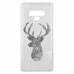 Чохол для Samsung Note 9 Imprint of human skin in the form of a deer