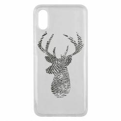 Чохол для Xiaomi Mi8 Pro Imprint of human skin in the form of a deer