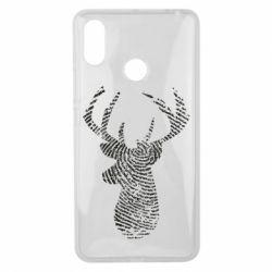 Чохол для Xiaomi Mi Max 3 Imprint of human skin in the form of a deer