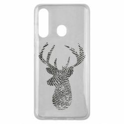 Чохол для Samsung M40 Imprint of human skin in the form of a deer