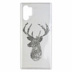 Чохол для Samsung Note 10 Plus Imprint of human skin in the form of a deer