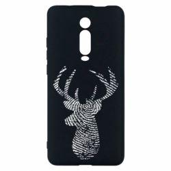 Чохол для Xiaomi Mi9T Imprint of human skin in the form of a deer