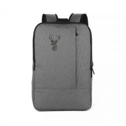 Рюкзак для ноутбука Imprint of human skin in the form of a deer