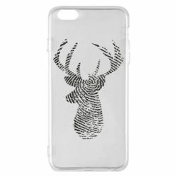 Чохол для iPhone 6 Plus/6S Plus Imprint of human skin in the form of a deer
