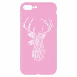 Чохол для iPhone 7 Plus Imprint of human skin in the form of a deer