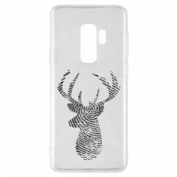 Чохол для Samsung S9+ Imprint of human skin in the form of a deer