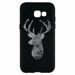 Чохол для Samsung A5 2017 Imprint of human skin in the form of a deer