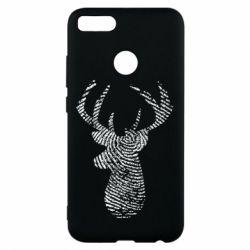 Чохол для Xiaomi Mi A1 Imprint of human skin in the form of a deer