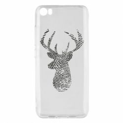 Чохол для Xiaomi Mi5/Mi5 Pro Imprint of human skin in the form of a deer