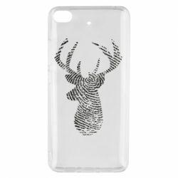 Чохол для Xiaomi Mi 5s Imprint of human skin in the form of a deer