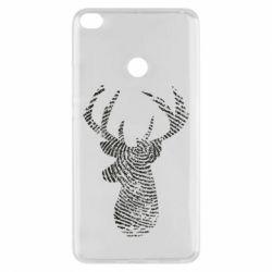 Чохол для Xiaomi Mi Max 2 Imprint of human skin in the form of a deer