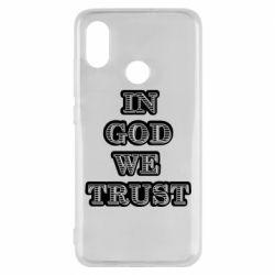 Чехол для Xiaomi Mi8 In god we trust
