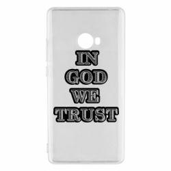 Чехол для Xiaomi Mi Note 2 In god we trust