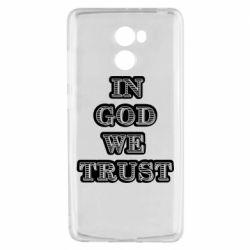 Чехол для Xiaomi Redmi 4 In god we trust