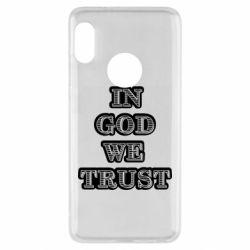 Чехол для Xiaomi Redmi Note 5 In god we trust