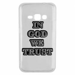 Чехол для Samsung J1 2016 In god we trust
